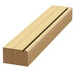 Wood Beaded